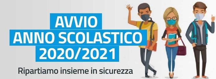 Avvio a.s. 2020/21 – Inizio delle attività didattiche