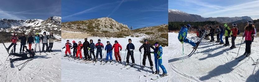 CORSO DI PERFEZIONAMENTO DI SNOWBOARD E SCI ALPINO
