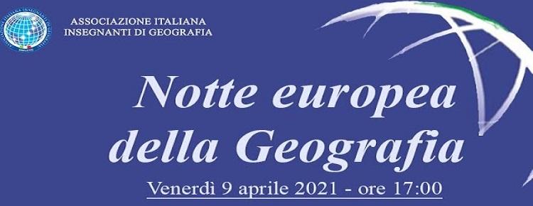 Notte Europea della Geografia – 9 aprile 2021