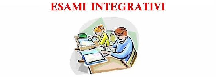 Calendario esami integrativi 3^ C MAT