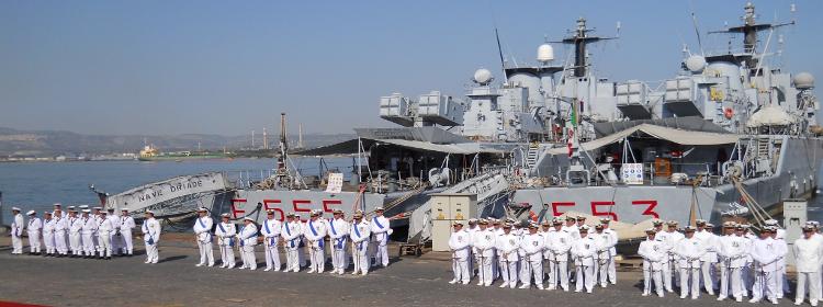 Scuola – Lavoro: Gli studenti dell'IIS Fermi – Eredia di Catania con la Marina militare di Augusta