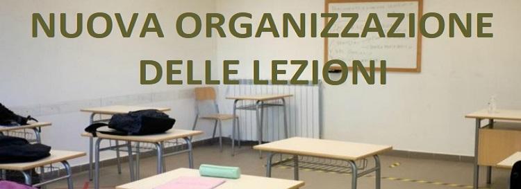 Nuova organizzazione didattica e turnazione settimanale delle classi dal 01/03/2021